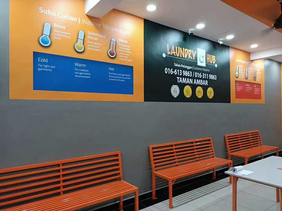 A brand new LaundryHub outlet is now ready operate at Taman Ambar, Dengkil Selangor.